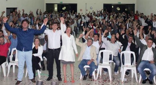 Centenas de pessoas lotaram o Centro Cultural Odair Paiva Sá