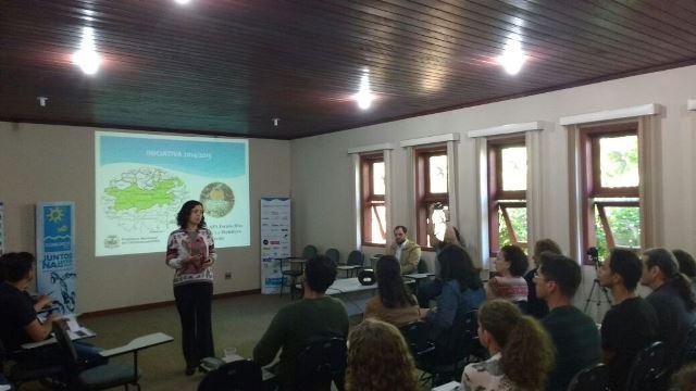 Apresentação do Projeto Guardião das Águas no evento Capacitação sobre Pagamento por Serviços Ambientais (PSA)