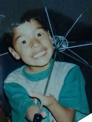 Daniel Dias, criança, natação (Foto: Reprodução / Instagram)