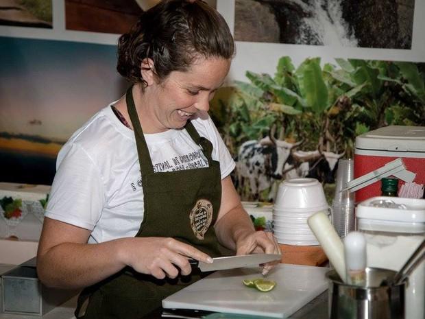 A cultura de roça é destaque de festival de gastronomia em Gonçalves, MG (Foto: Clodoaldo Costa/Gonçalves)