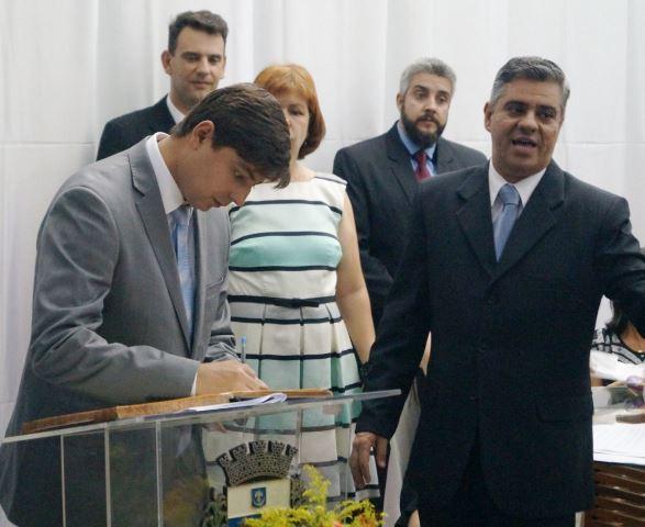 Edmar Dias dá início ao seu segundo mandato à frente da Prefeitura Municipal