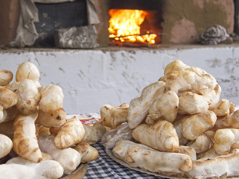 No mês de julho é realizada a tradicional Festa do Biscoito de Caldas que atrai muitos turistas (Foto: Christian Jauch)