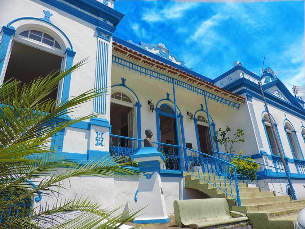 Casa da Cultura tem acervo histórico em Machado (Foto: Secretaria de Turismo de Machado/Divulgação)