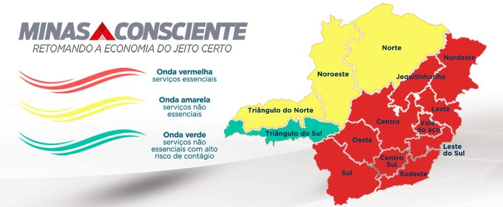 Classificação do Minas Consciente — Foto: Imprensa MG/Divulgação
