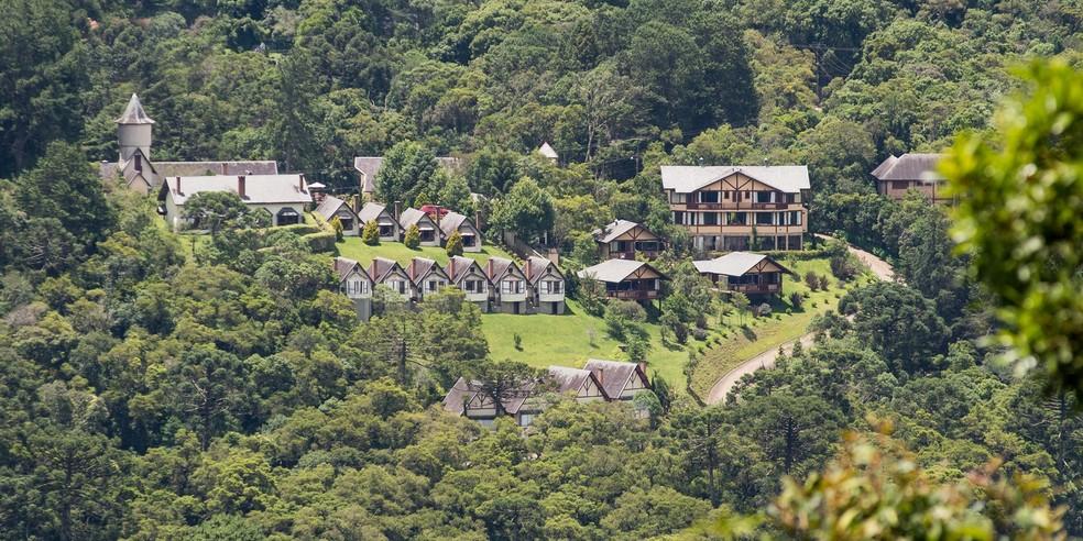 Pousadas e hotéis de Monte Verde (MG) recebem autorização para voltarem a funcionar  — Foto: Divulgação/Pousada Mirante da Colina